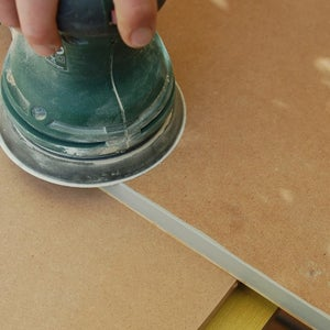 Sealing the Wood Slice Veneer and Finish Painting