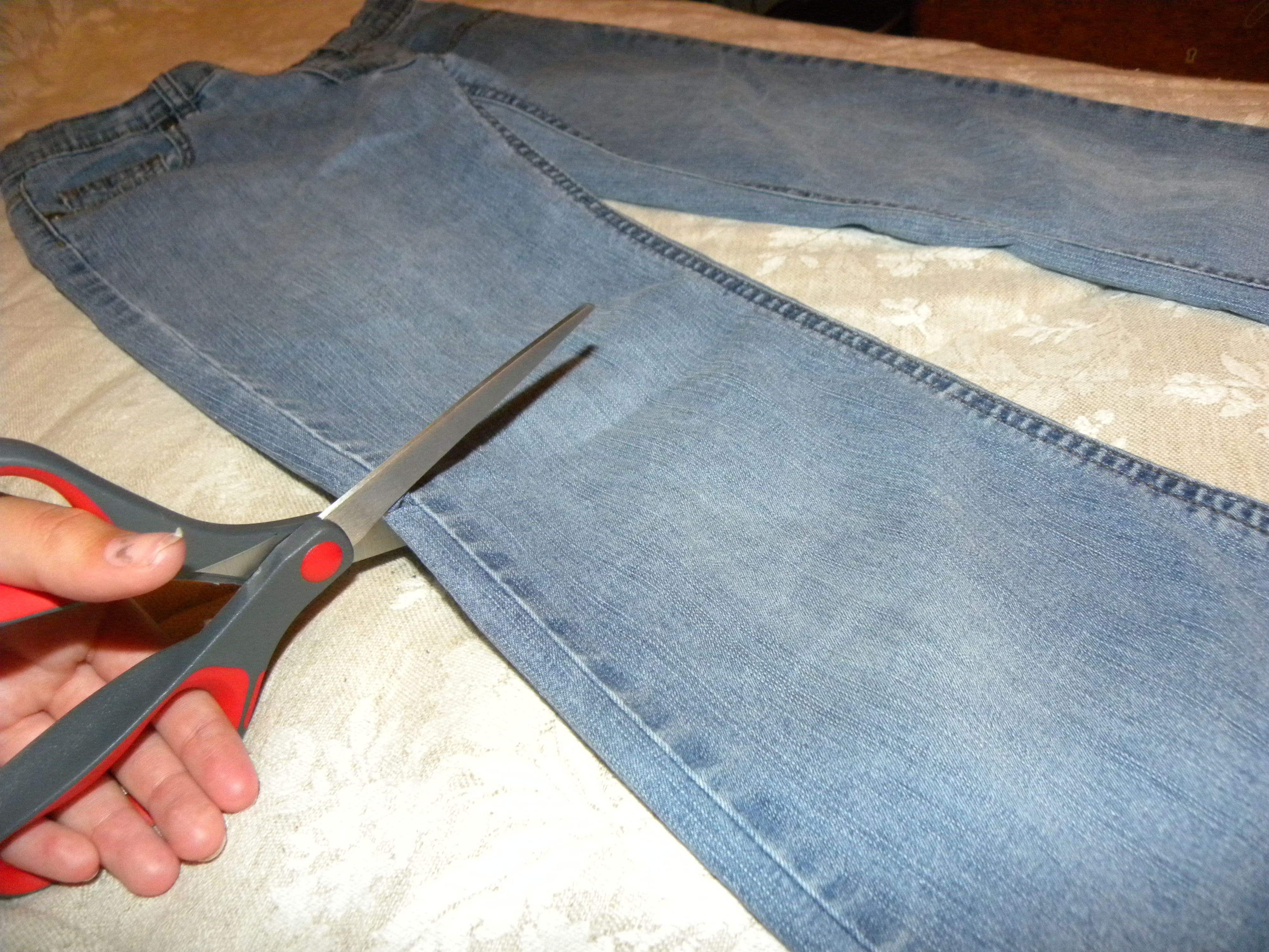 Picture of Cutting the Jeans