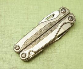 How to take apart and re-assemble a Leatherman Charge TTi
