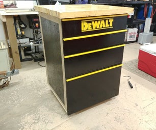 How to Make a Tool Cabinet Workbench Using Reclaimed Wood for Under 100$ - Part 1: the Tool Cabinet
