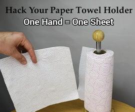 Hack Your Paper Towel Holder