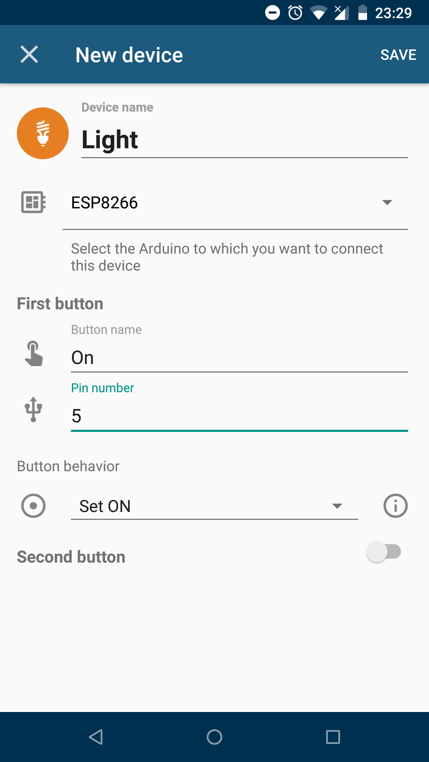 Picture of App Configuration