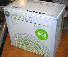 External Xbox 360 Hard Drive (HDD)