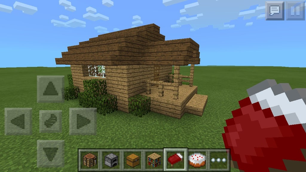 Little Minecraft Shack 9 Steps Instructables