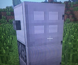 How to Make a Refrigerator in Minecraft