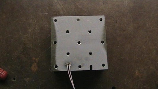 Custom Made 5 .. 12 V DC Fan's Power Supply + Overheat Protection System