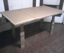Cardboard Kitchen table v1