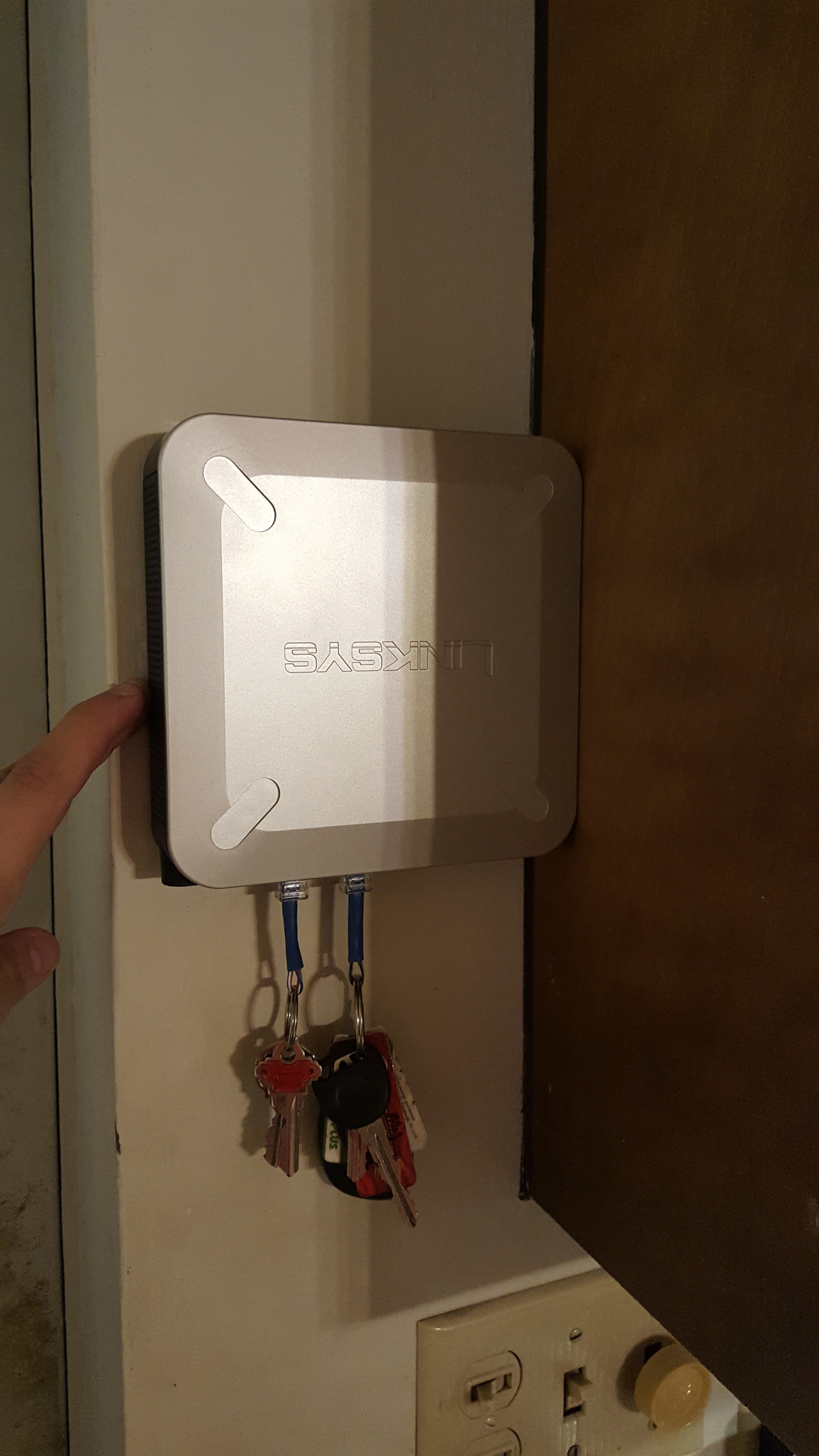 Picture of Router Keyholder