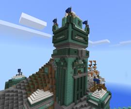 The Prismarine Tower (work in Progress)