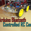 Arduino Bluetooth Controlled RC Car
