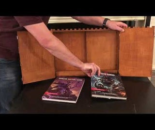 Dungeon Master Screen (with Storage Space)