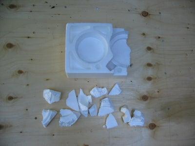 Melt the Styrofoam