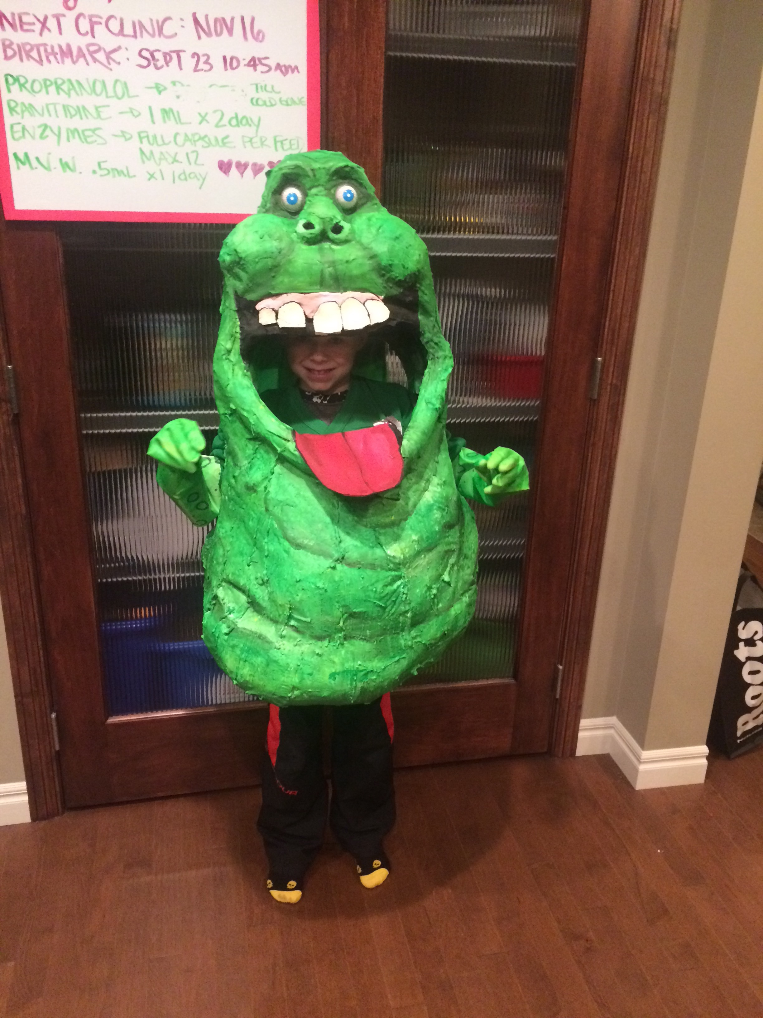Picture of Slimer Ghostbusters Costume