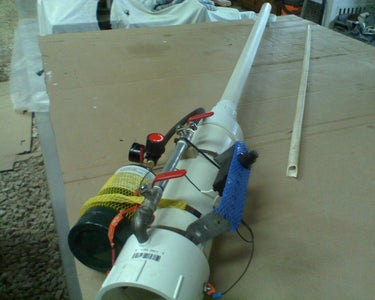 Very nice propane spud gun with range of 150-200 yards for under 100$ should i post?