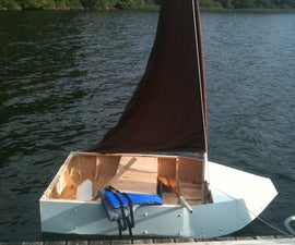 How to make A small Sail/Row Boat