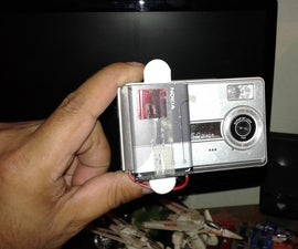 How to Adapt a Cellphone Battery Into a Digital Camera and It Works!