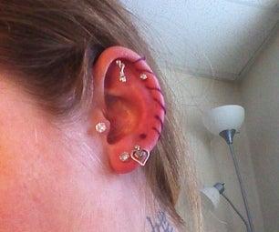 Stitched Ear, Earring Alternative