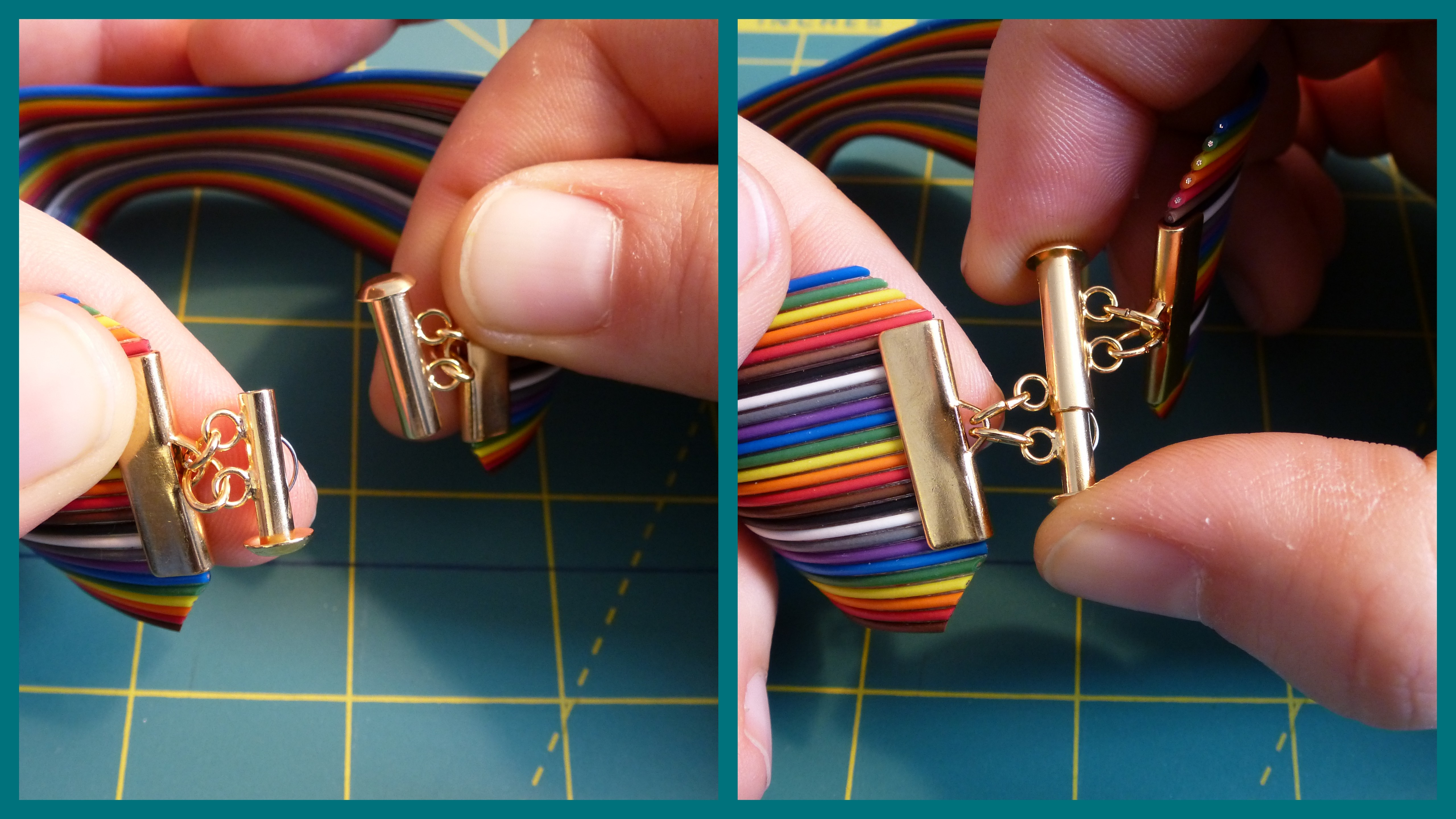 Picture of Attaching the Clasp