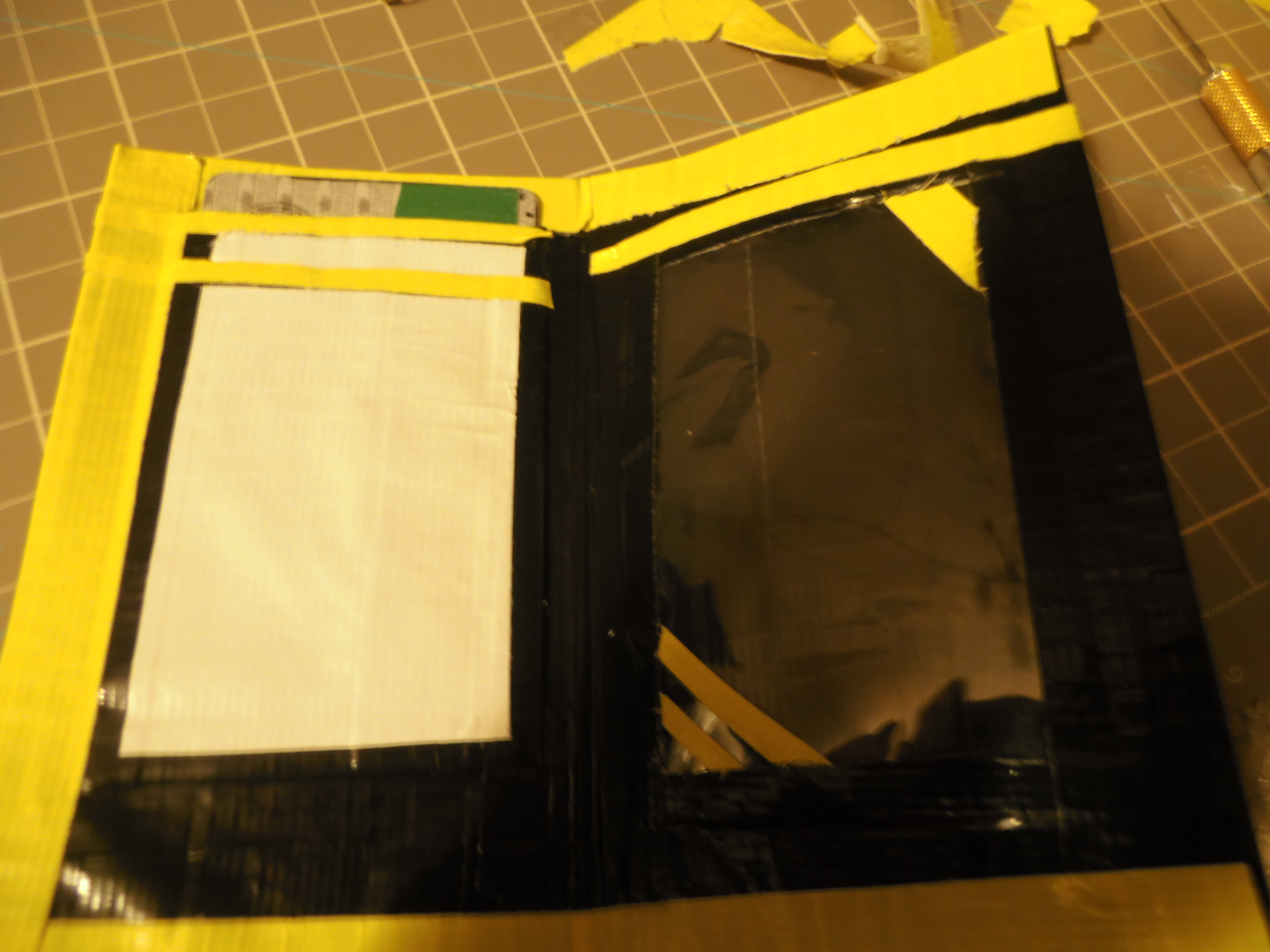 Picture of How to Make a Duct Tape Flip Wallet