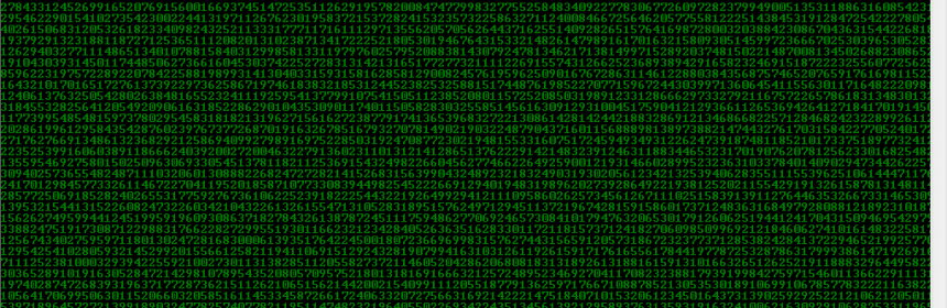 Picture of How to Make Matrix With Notepad!
