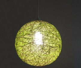 Lampshade From Thread