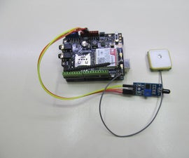 Gps Forest Fire Alert System With Sim808 and Arduino Uno