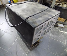 My Shop Aircleaner (reclaimed Wood and Motor)