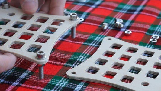 Assemble the Rack With Screws and Nuts