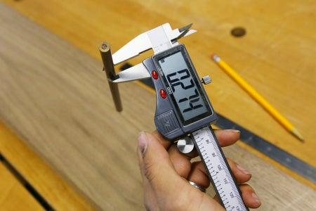 Measuring Pencil Diameter