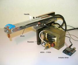 DIY Battery Tab Resistance Fine-spot Welder