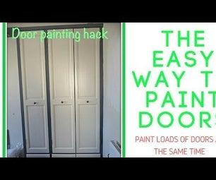 Painting Doors the Easy Way