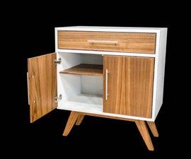 Mid Century Modern Coffee Cabinet