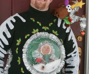 Ugly Christmas Sweater -One for You and One for Your Pet!