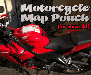 $1 Motorcycle Map Pouch