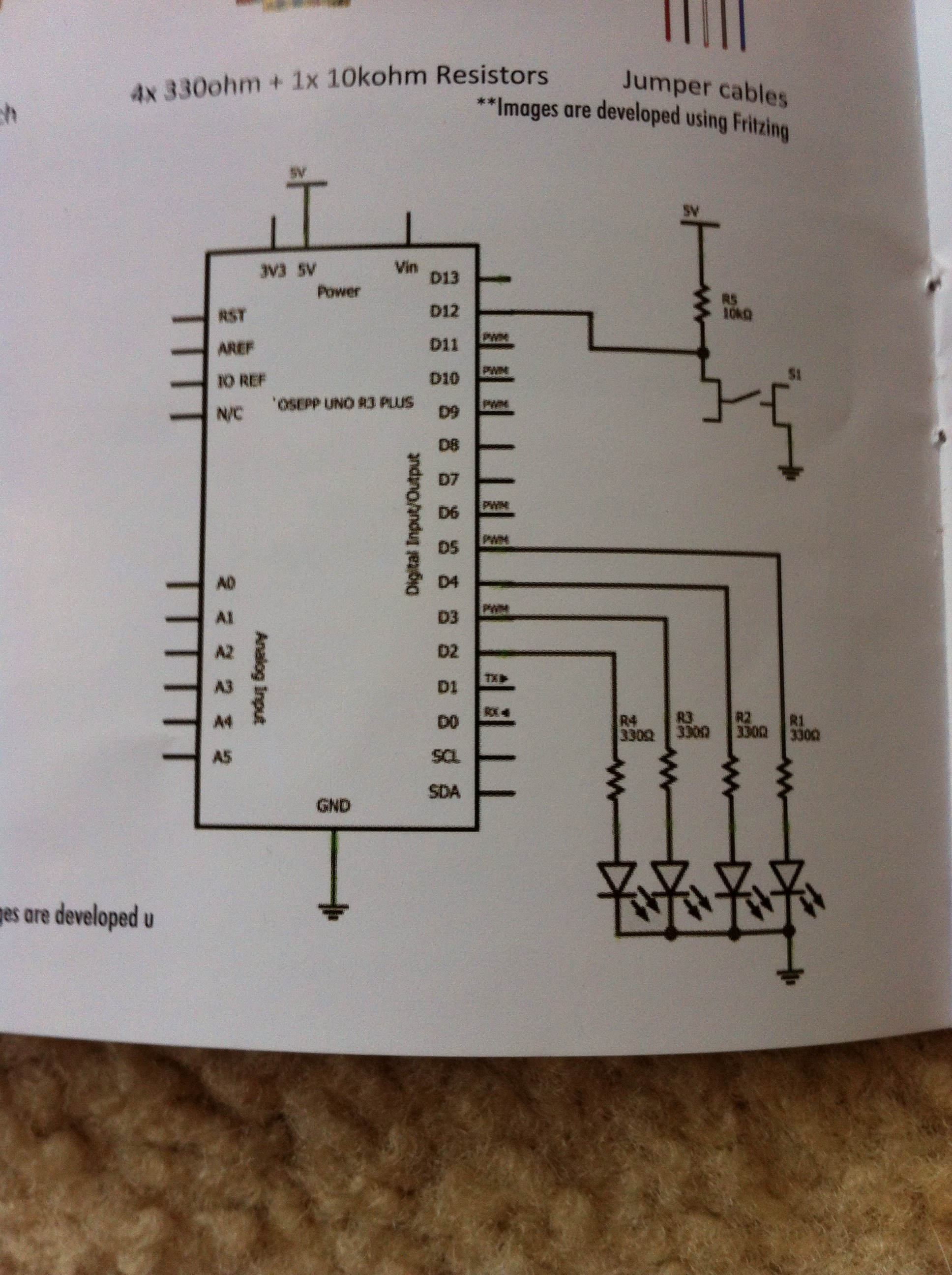 Picture of How to Circuit the Board