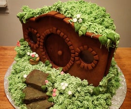 Gingerbread Hobbit House