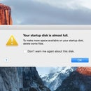Your Startup Disk is Full MacBook Fix - How to Add storage space