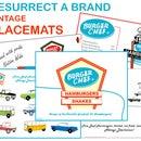 Resurrect a Brand - Burger Chef - Part 5 - Vintage Placemat