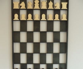 Shadow Box / Vertical Chess Board
