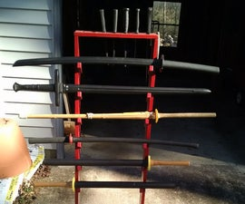 Martial Arts Equipment Rack & Storage
