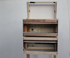 Roll Up Shelf