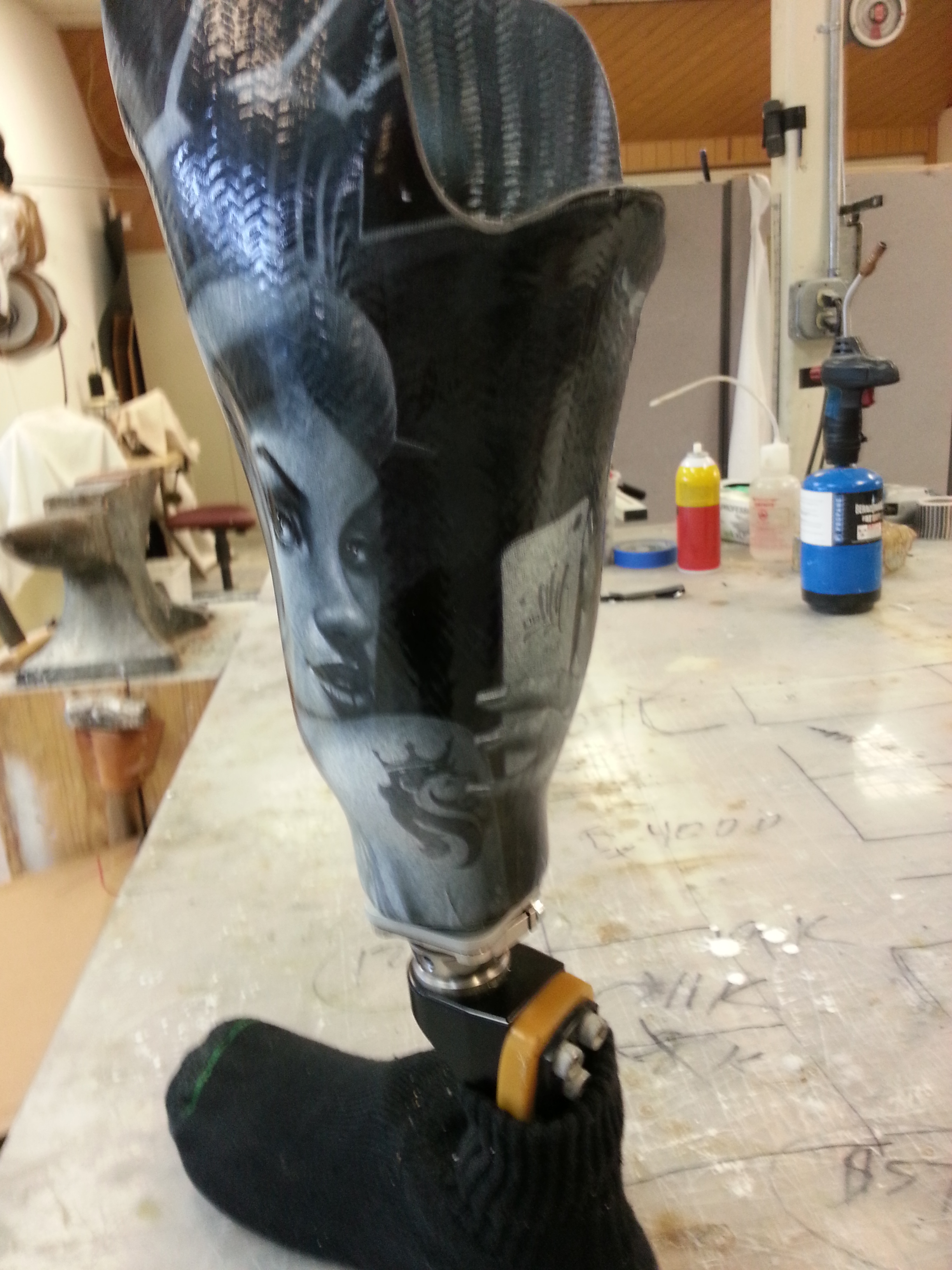 Picture of Assembly: Finishing Your Leg