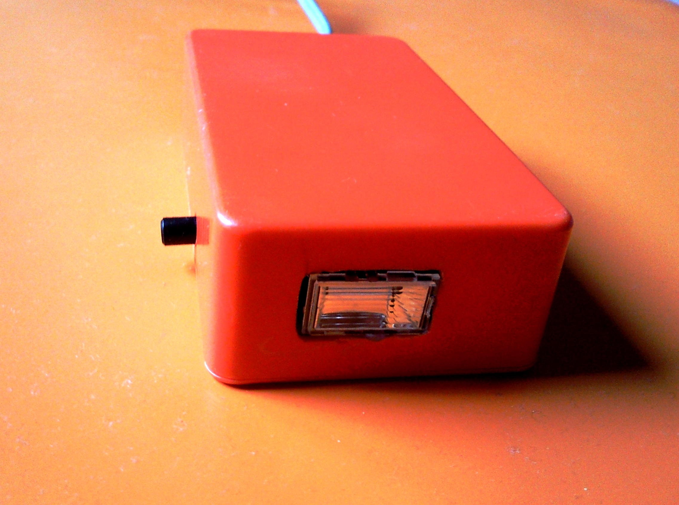 Picture of Party Stroboscope Done by Recycled Parts