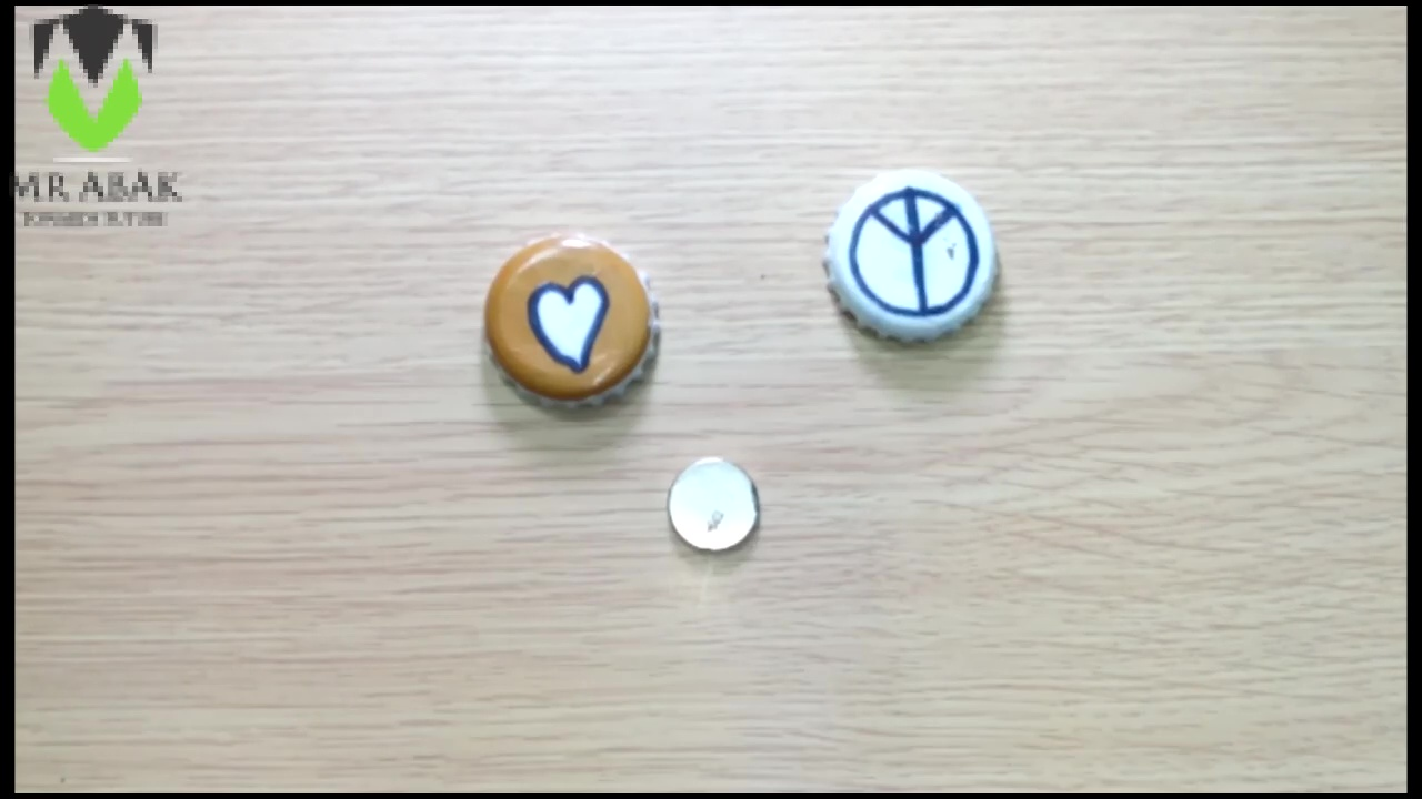 Picture of Bottle Cap Fridge Magnets : Attaching the Magnet
