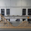 Wooden Roller coaster model (Engels/English)