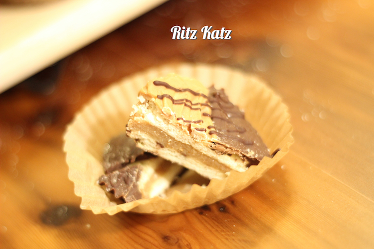 Picture of Ritz Katz - No-bake Peanut Butter Chocolate Cookie Cups