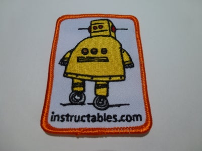 Adhering Instructables Logo to the Case