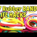 7 Simple Rubber Bands Life Hacks