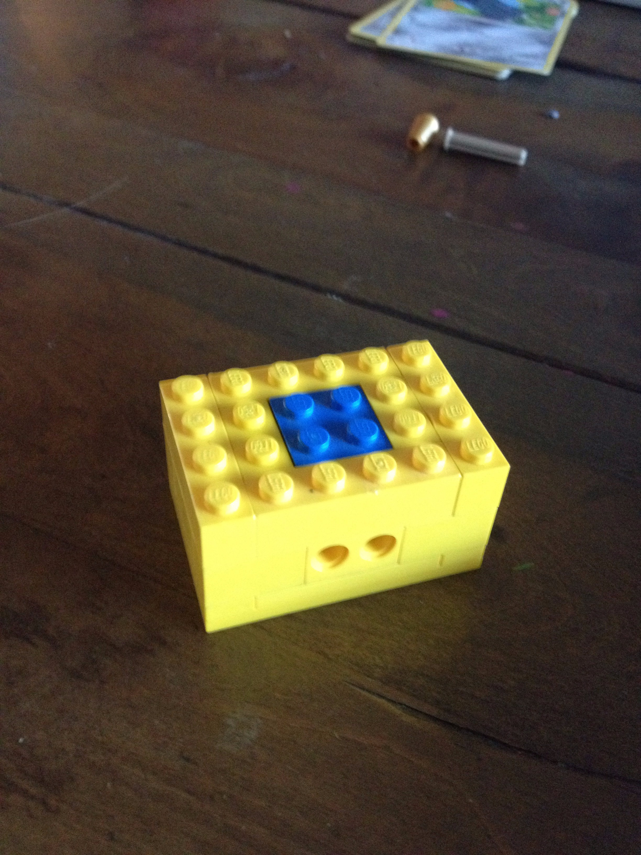 Picture of THE TINIEST LEGO LOCK MECHANISM