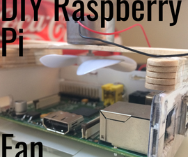DIY Cheap Easy Raspberry Pi Fan